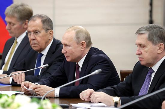 Путин заявил о заинтересованности в сотрудничестве с Восточно-Африканским сообществом