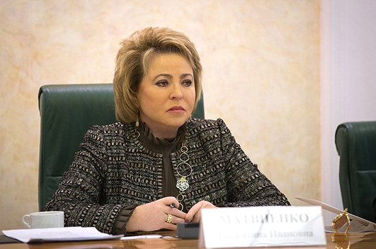 Матвиенко предложила закрепить порядок госзакупок в электронных магазинах законом