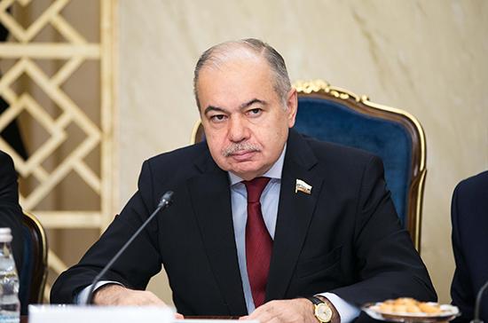 Умаханов отметил роль парламентов в продвижении совместных проектов России и стран Африки