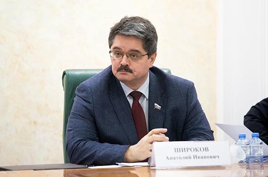 Широков заявил о необходимости введения льгот и преференций для системы образования на Дальнем Востоке