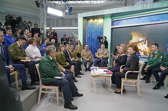 Матвиенко: закон о студенческих отрядах нужно принять в каждом регионе России