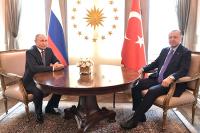 В Кремле рассказали, как Путин и Эрдоган работали над меморандумом по Сирии