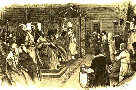 Комедиальная хоромина стала первым театральным зданием
