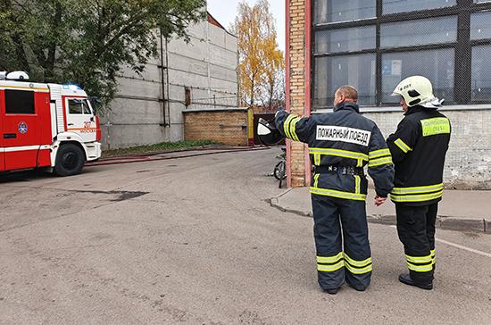 Строительство и ремонт зданий можно будет начать только после получения документа о пожарной безопасности