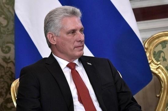 Президент Кубы начал визит в Россию с посещения Петербурга