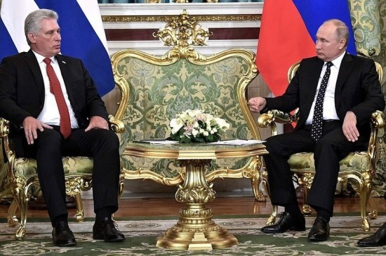 Владимир Путин проведёт переговоры с президентом Кубы