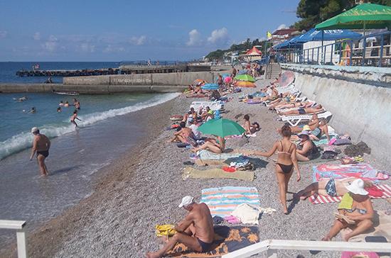 В Крыму с начала года отдохнуло рекордное число туристов