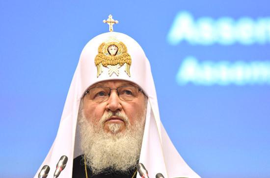 Патриарх Кирилл призвал учитывать родительский стаж при расчете пенсий