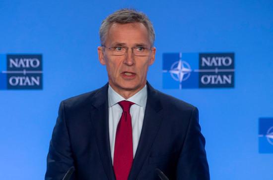 Столтенберг призвал Киев к мирному урегулированию конфликта в Донбассе