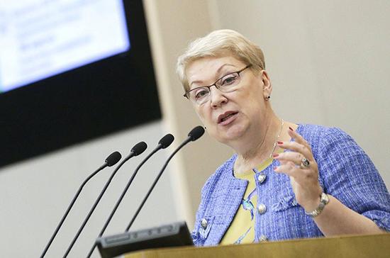 Васильева заявила о низком уровне преподавания информатики в школах