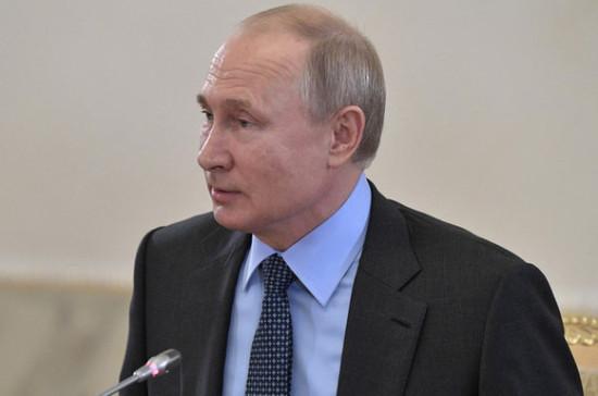Путин поддержал идею обеспечить облегчённый ввоз для медоборудования в научных целях
