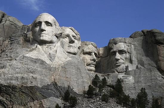 Скала американских президентов появилась 78 лет назад