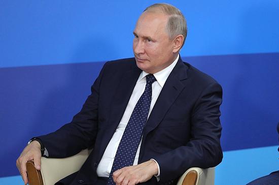 Путин отметил важность стоящих перед ФССП задач