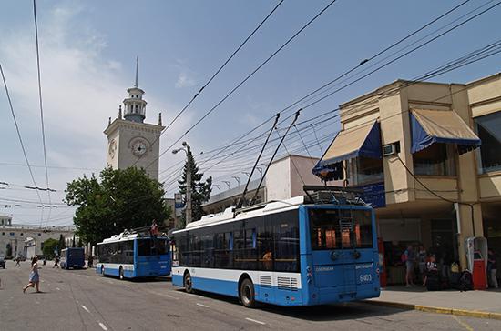 Троллейбус времени — от Симферополя до Алушты