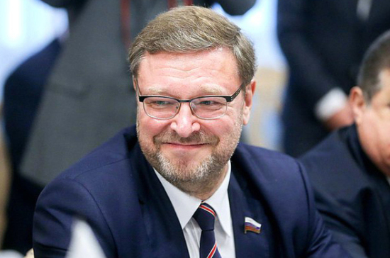 Косачев передал спикеру палаты советников Японии послание от Матвиенко