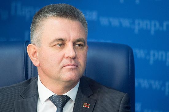 Пресс-конференция президента Приднестровья Вадима Красносельского
