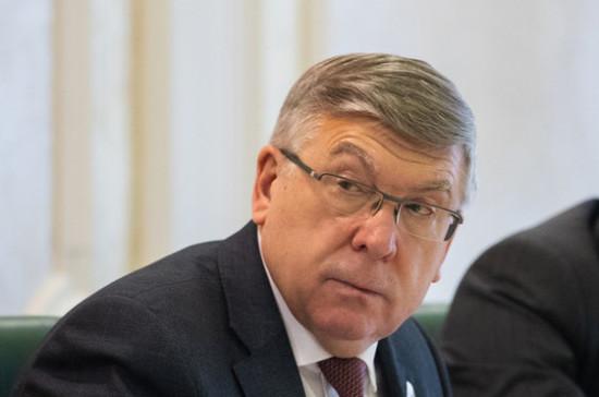 Рязанский: законопроект о вытрезвителях поможет сохранить жизни тысячам людей
