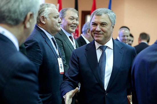 Володин выдвинут на должность Председателя ПА ОДКБ