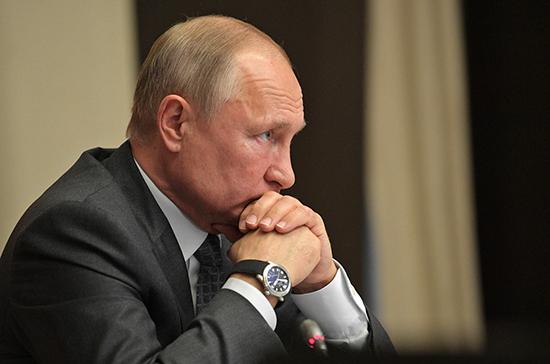 Путин потребовал от МВД работать над укреплением доверия общества к полиции