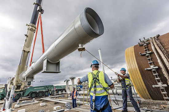 В ФРГ решили смягчить газовую директиву Евросоюза для «Северного потока — 2»