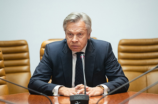 Пушков оценил призыв Макрона к Европе пересмотреть отношения с Россией