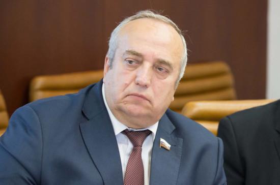 Клинцевич поздравил российских полицейских с профессиональным праздником