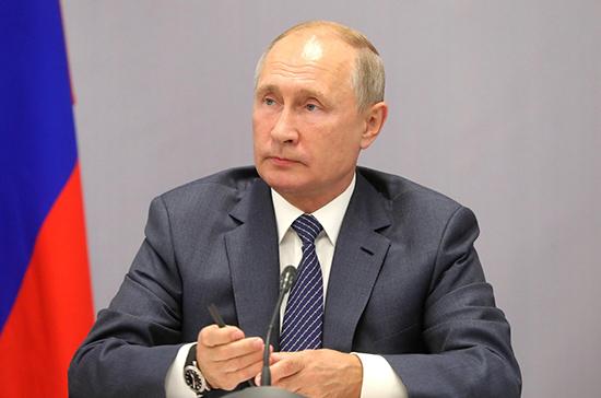 Путин призвал полицию жестко противодействовать коррупции и экстремизму