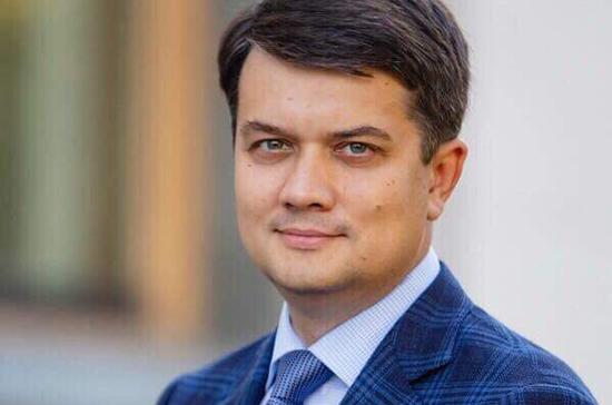 Спикер Рады Разумков покинул пост главы партии «Слуга народа»
