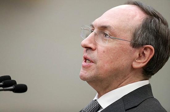 Никонов рассказал в РАН о работе над законопроектом о науке