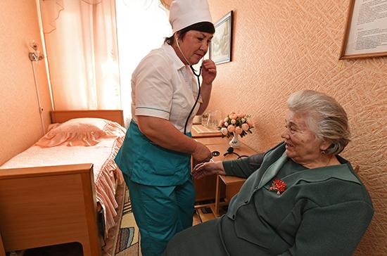 Минтруд разработал проект по привлечению частников к медицинскому уходу за пожилыми россиянами