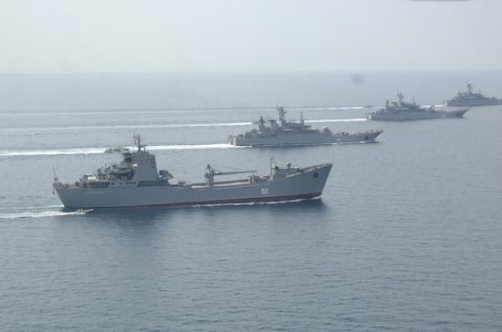 Россия начала учения в Чёрном море