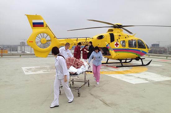 Санавиация в Волгоградской области перевезла более 250 пациентов с начала года