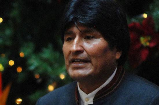 Моралес прокомментировал слухи, что в Боливии его ждут российские военные
