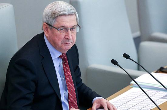 Мельников призвал МПА СНГ оперативно вносить изменения в принятые модельные законы
