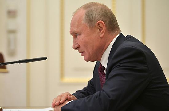 Путин провёл совещание с Совбезом РФ по ситуации на юго-востоке Украины