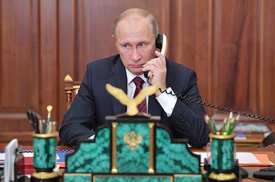 Президенты России и Украины пообщались по телефону