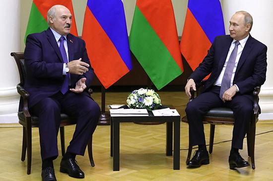 Путин и Лукашенко договорились встретиться до конца года, сообщил Песков