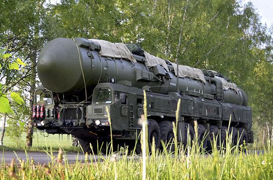 Российские военные осуществили пуск ракеты «Тополь-М»