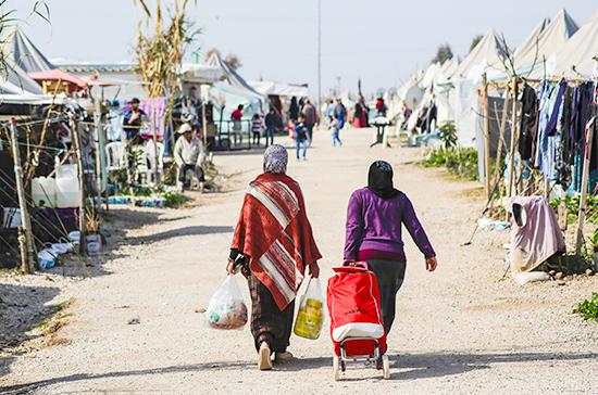 Россия отреагировала на обвинения в бомбардировке лагеря беженцев в Сирии
