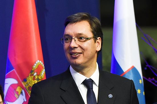 Вучич поблагодарил Россию за досрочную поставку вертолётов Ми-35