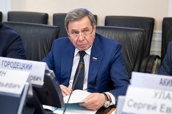 Городецкий рассказал об исполнении регионами постановлений Совфеда