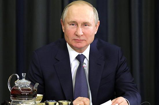 Путин: Россия обеспечивает более трети потребности Германии в энергоносителях