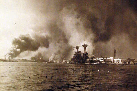 Японцы напали на Перл-Харбор 78 лет назад
