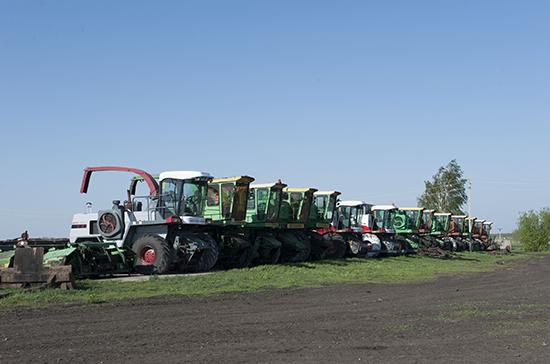 В Госдуму внесли проект о поддержке малого и среднего бизнеса в сельском хозяйстве