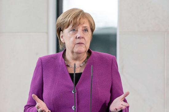 Меркель впервые посетила Освенцим