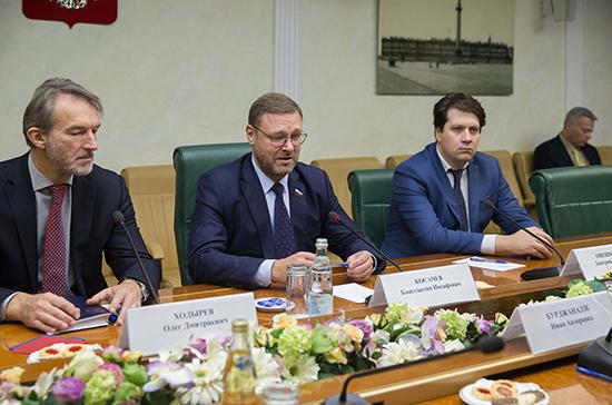 Косачев: политики должны воспринять запрос народов России и Грузии на улучшение двусторонних  отношений