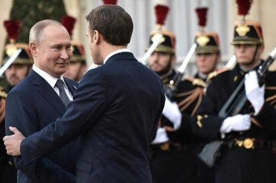 В Париже начался саммит «нормандской четверки»