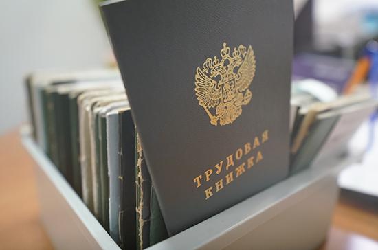 Комитет Совфеда поддержал внедрение электронных трудовых книжек