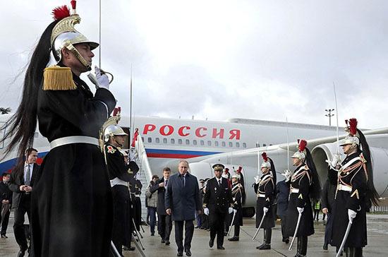 Путин прибыл в Париж на саммит «нормандской четвёрки»