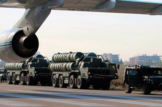 СМИ: в Турции продолжат установку ПВО С-400 в плановом порядке